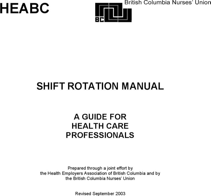 24 7 Rotating Shift Schedule Manual Download