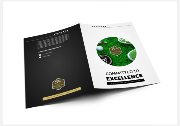 3 Bi Fold Brochure Package