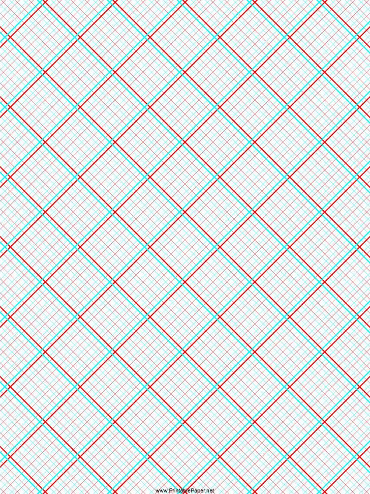 3D Graph Paper 3