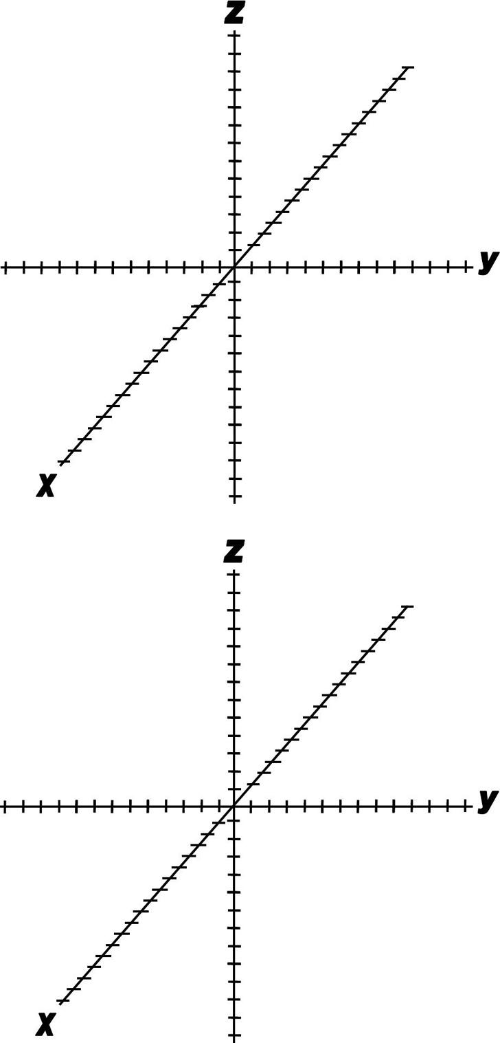 3D Graph Paper 4