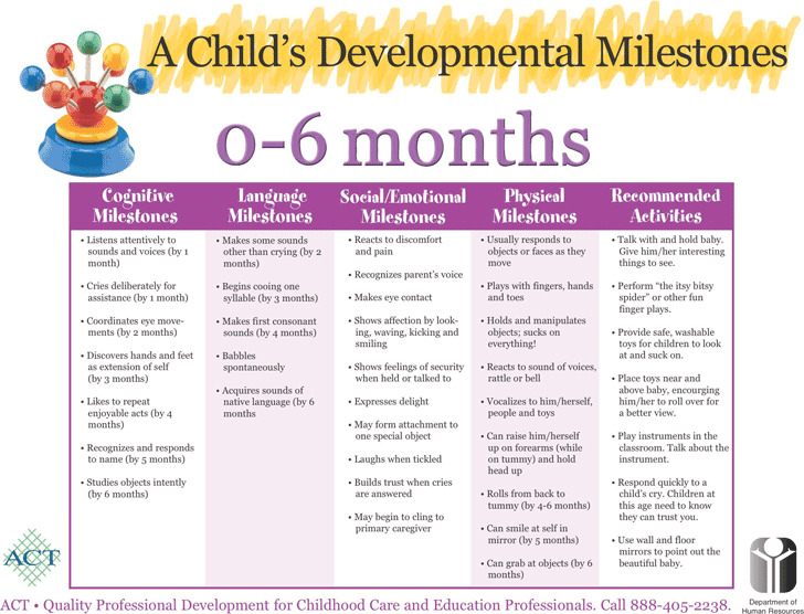 Baby Milestones Chart  Download Free  Premium Templates Forms