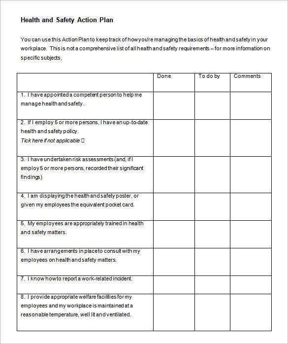 Action Plan Template  Download Free  Premium Templates Forms