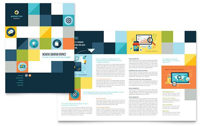 Advertising Company Brochure Template