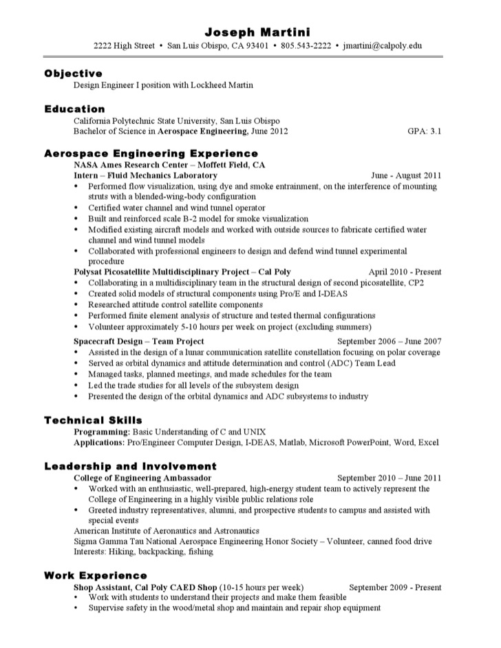 engineering resume template free premium