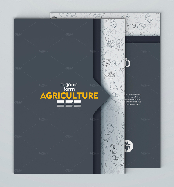 Agriculture Brochure Template
