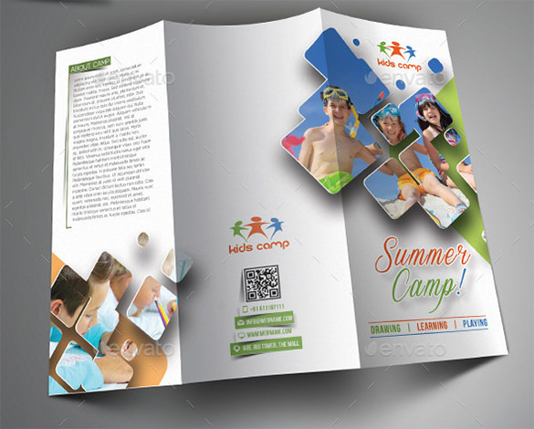 Amazing Camp Brochure Template -$8