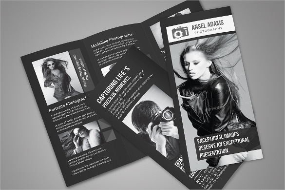 Amazing Photography Tri-Fold Brochure Download