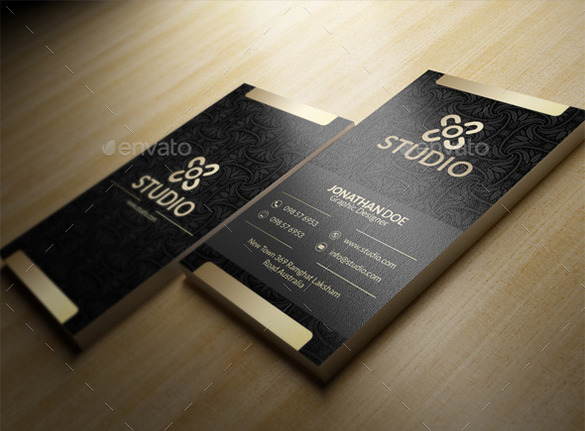 Amazing Premium Black Business Card For You