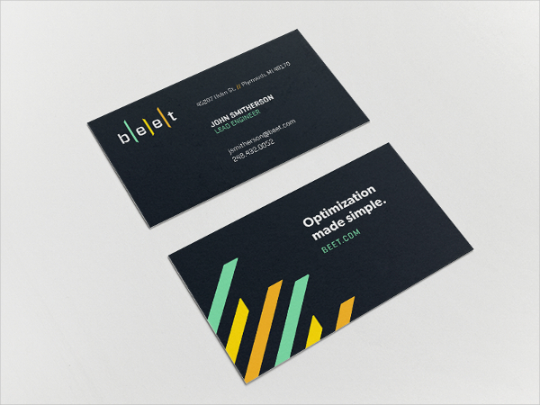 Analytics Business Card
