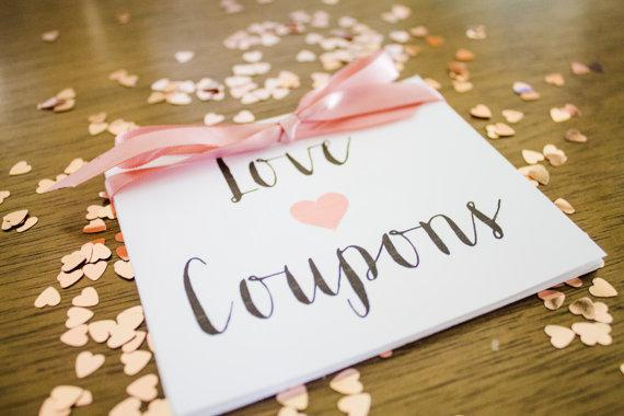 Anniversary Sample Coupon Book Template