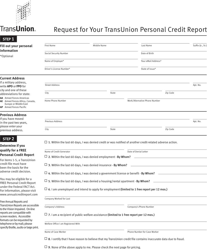Credit Report Template Fake Credit Report Template Fake Credit