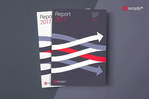 Annual Report Indesign Template For Adobe Indesign