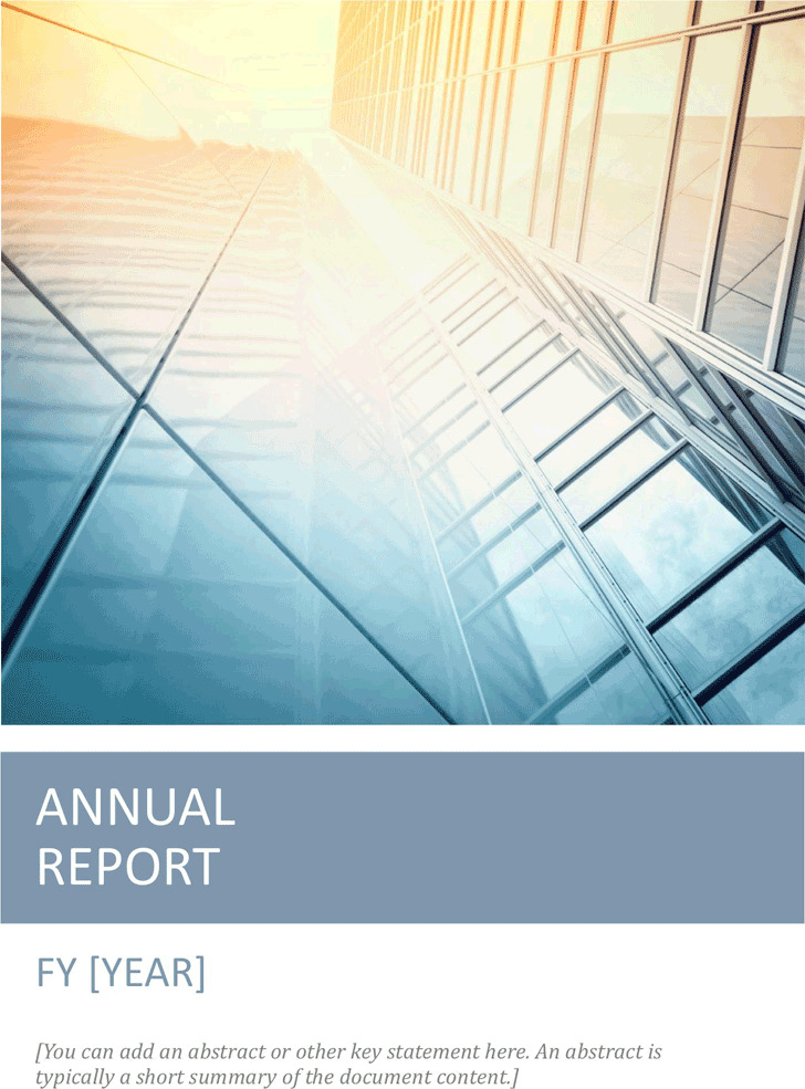 Annual Report Template  Download Free  Premium Templates Forms
