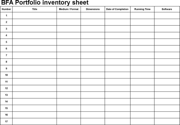 Application Portfolio Inventory Template