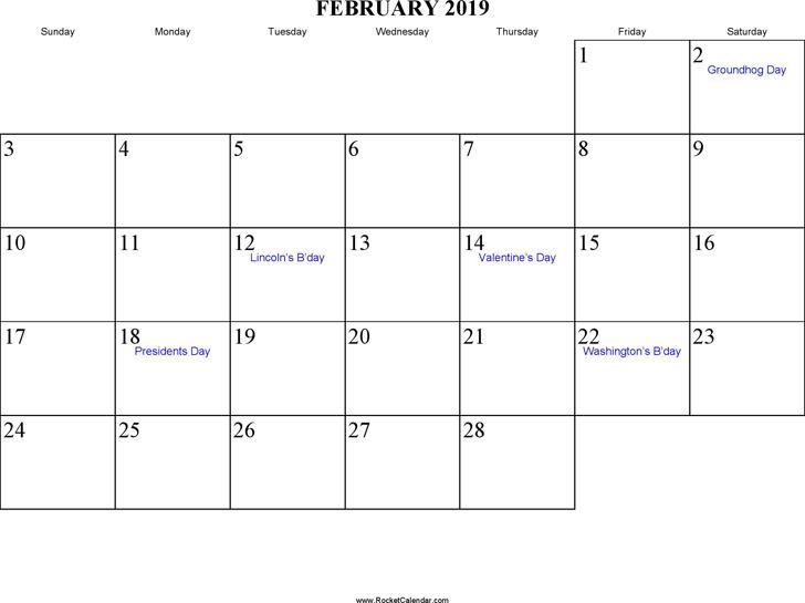 April 2019 Calendar 1