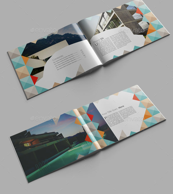 Architecture Brochure Indesign Format