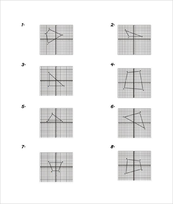 Areas Coordinate Geometry Worksheet Template