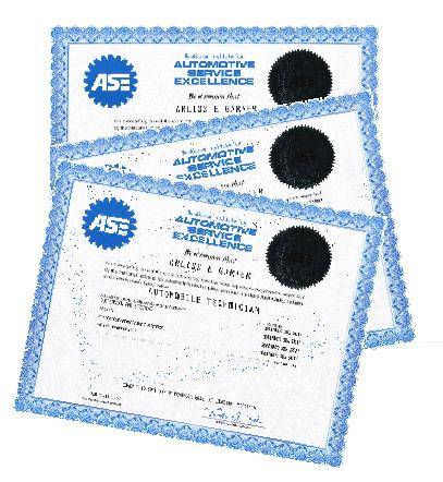 ASE Collision Repair Estimation Template