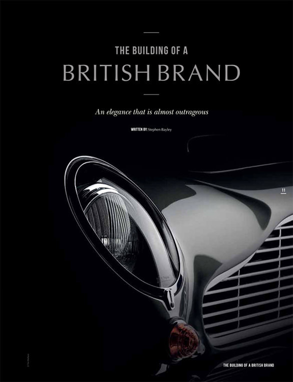 Aston Martin Centenary Brochure Digital Project