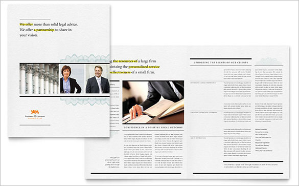 Attorney Brochure Template