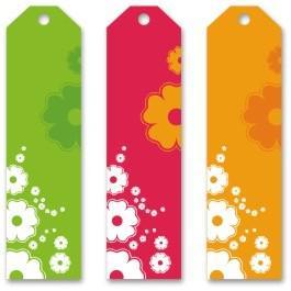 Attractive Blank Bookmark Template Download