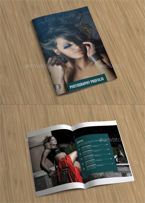 Attractive Photography Brochure Template Download
