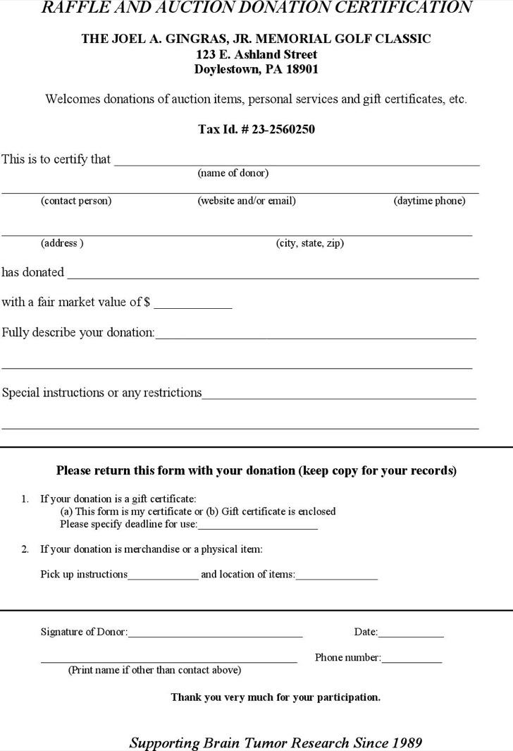 Auction Certificate Templates – Certification Templates