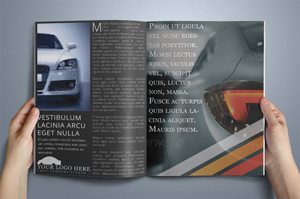 Automobile Modern Brochure Template