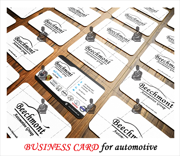 Automotive Business Card Template Download