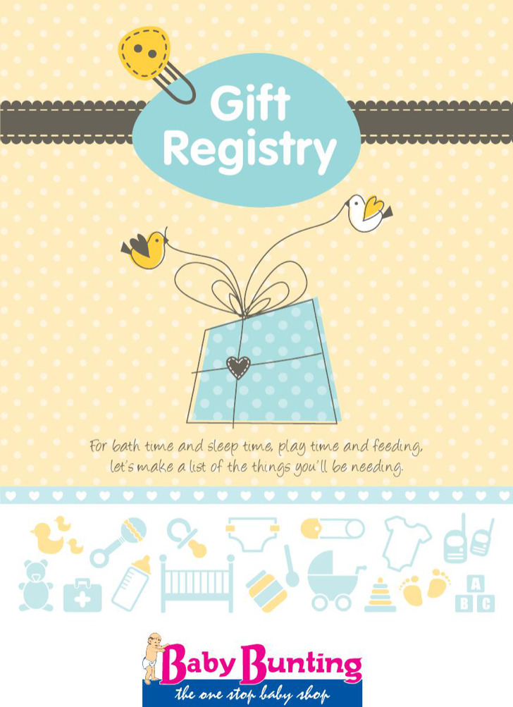 Baby Registry Checklists  WowcircleTk