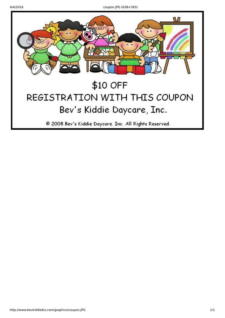 Baby Sitting Coupon Template Free Download