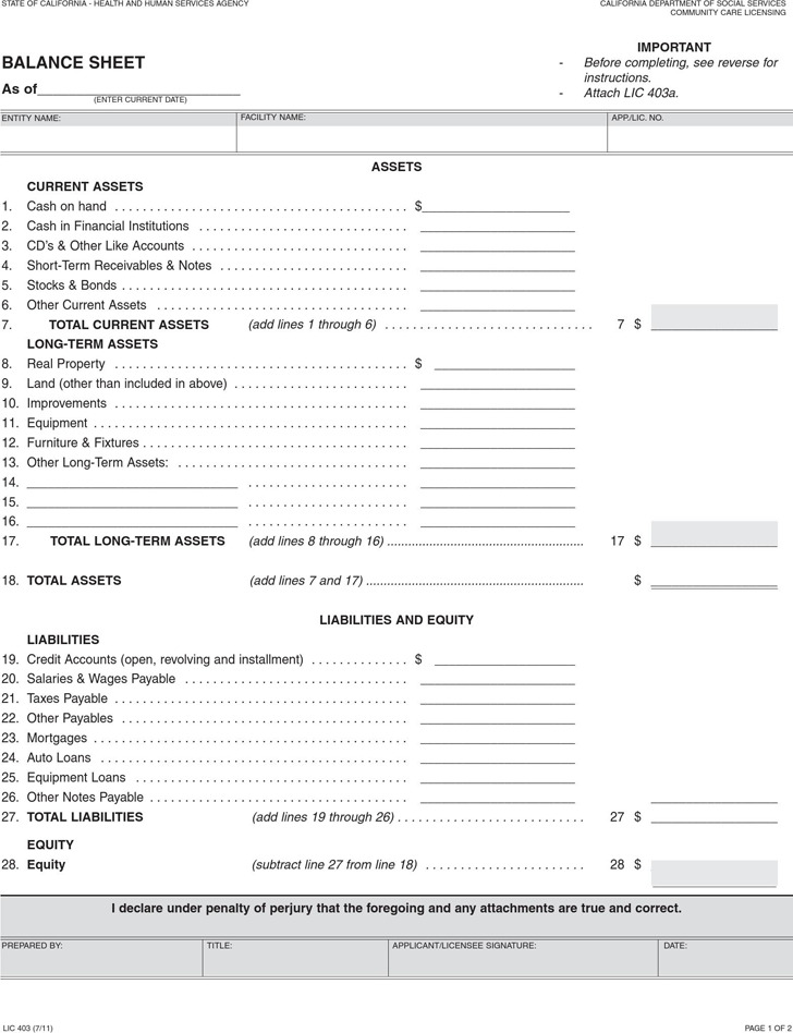 Balance Sheet Template Download Free Premium Templates Forms Samples For JPEG PNG PDF