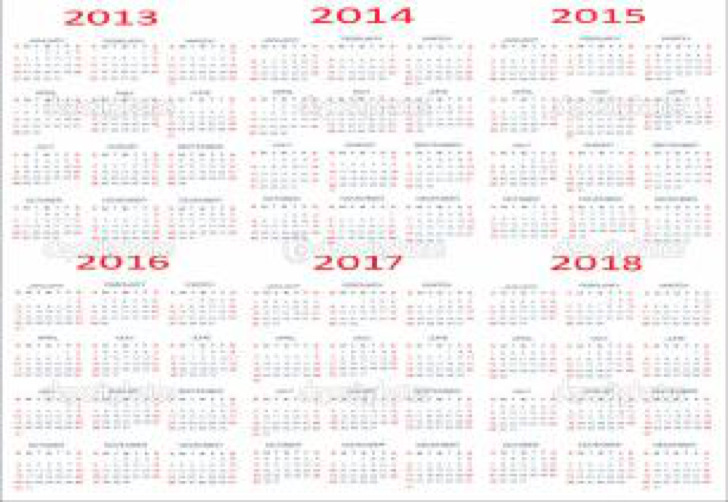 Academic Calendar Template – Sample Academic Calendar
