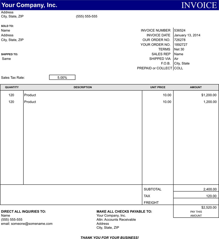 basic invoice template | download free & premium templates, forms, Invoice examples