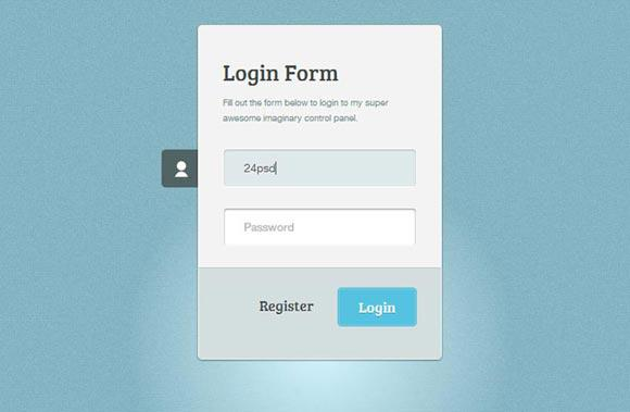 Basic Login Form Template Free HTML