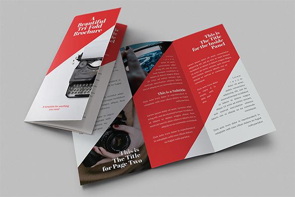 Beautiful Tri-Fold Brochure Design