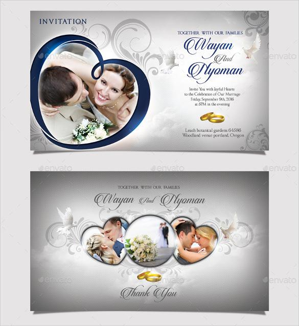 Beautiful Wedding Invitation Template Download