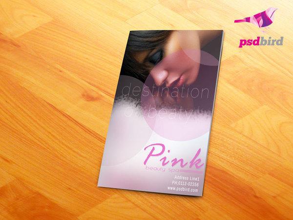 Beauty Saloon Spa Brochure
