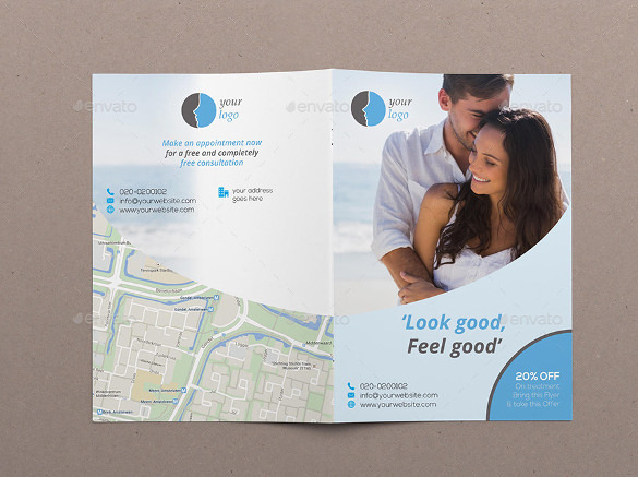 Beauty Treatment Brochure Template
