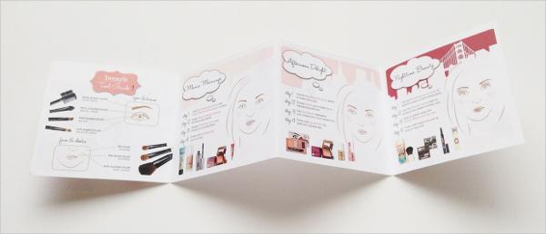 Benefit Cosmetics Brochure