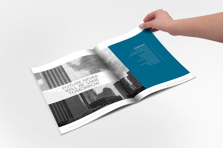 Best Annual Report Indesign Template