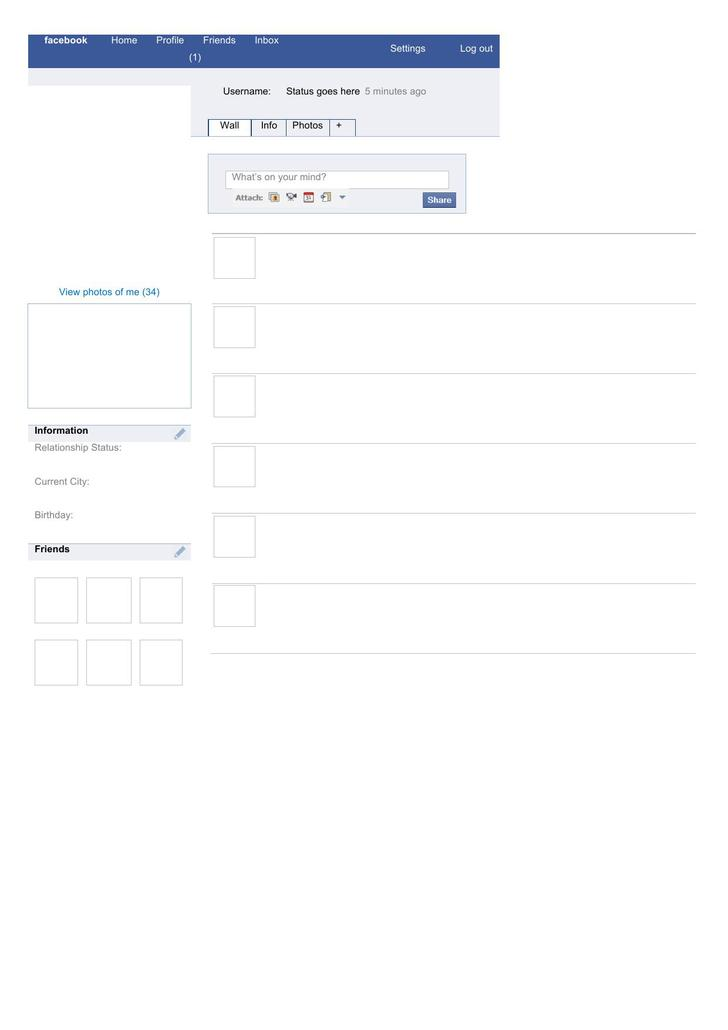 Best Facebook Page Template