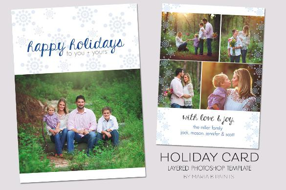 Best Holiday Card Template Download