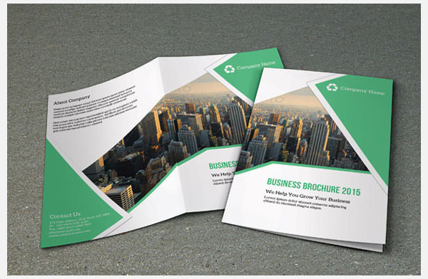 Bi-Fold Corporate Brchoure Template