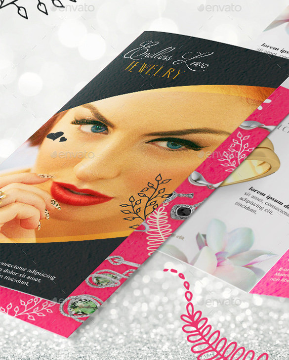 Jewelry Brochure Templates  Download Free  Premium Templates