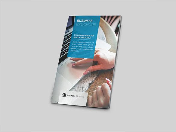 Bi-Fold PSD Modern Brochure Template
