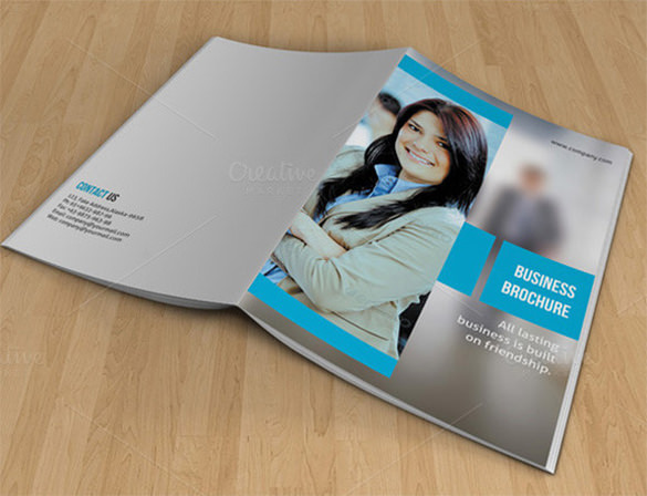 Bifold Brochure for Business-V07