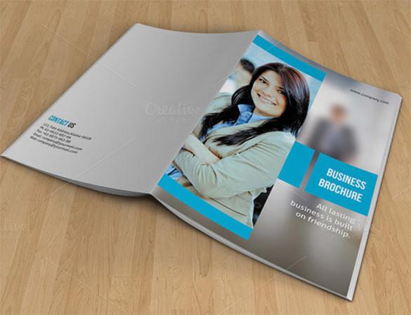 Bifold Brochure for Business-V07