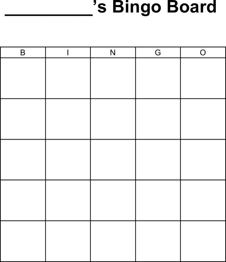 5 Bingo Templates In Microsoft Word Download Free Premium