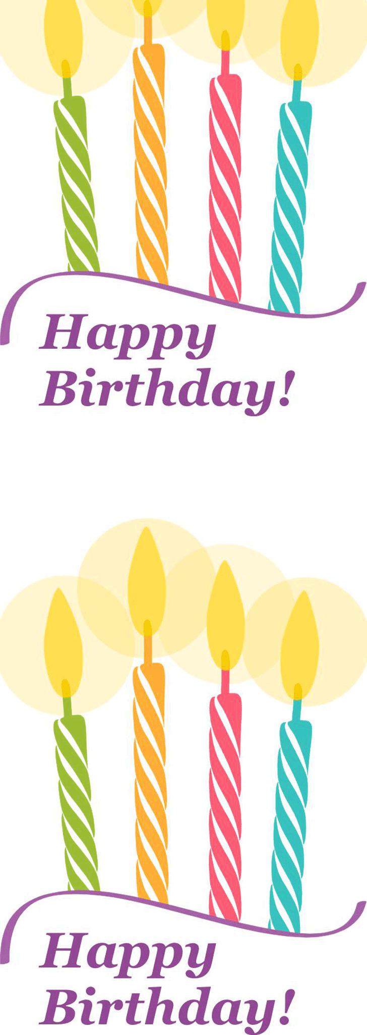 Birthday Card Template 3